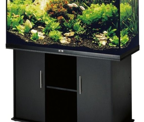 juwel aquarium rio 300 schwarz 350l schrank 125sb g nstig kaufen im koi shop. Black Bedroom Furniture Sets. Home Design Ideas
