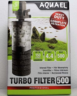 Aquael 5905546133357 Innenfilter Turbo Filter 500 - 1