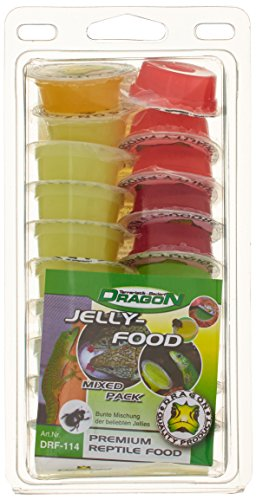 Dragon Terraristik Jelly-Food Mixed Pack 20 Stück a 16g, 1er Pack (1 x 320 g) - 1
