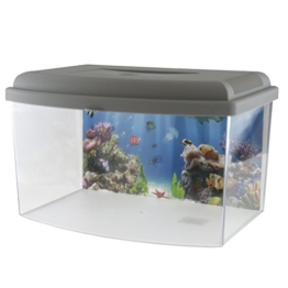 GEORPLAST Aquarium mit Deckel 5,5 Liter – : - 1