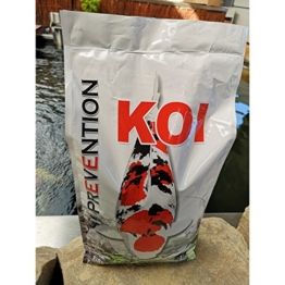 Koi Prevention 5kg First Choice For Heathy Koi (4,5mm Granulat) Koifutter - 1