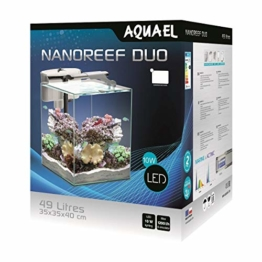 Aquael Nano Reef Duo 49L weiß - Riff Aquarium Set - 1